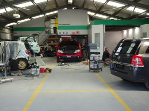 The Auto Collision Repairs Guernsey Workshop