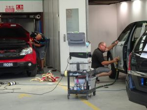 Auto Collision Repairs Guernsey BS10125 accredited