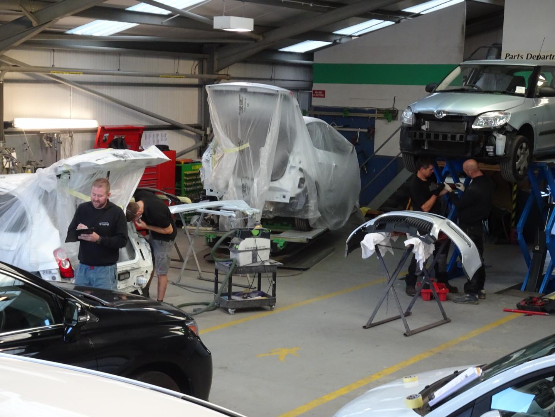 High quality, guarantee backed vehicle repairs